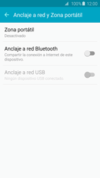 Configura el hotspot móvil - Samsung Galaxy S6 - G920 - Passo 5