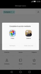 Envía fotos, videos y audio por mensaje de texto - Huawei Ascend Mate 7 - Passo 13