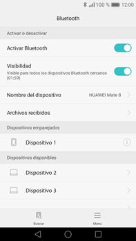 Conecta con otro dispositivo Bluetooth - Huawei Mate 8 - Passo 7