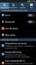 Configura el hotspot móvil - Samsung Galaxy S4 Mini - Passo 4