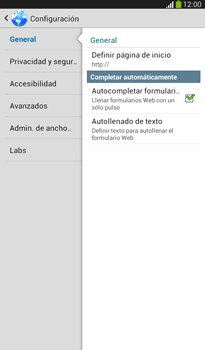 Configura el Internet - Samsung Galaxy Tab 3 7.0 - Passo 25