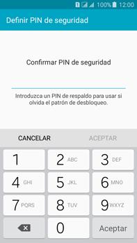 Desbloqueo del equipo por medio del patrón - Samsung Galaxy J7 - J700 - Passo 13