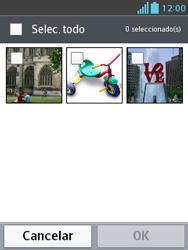 Envía fotos, videos y audio por mensaje de texto - LG Optimus L3 II - Passo 14