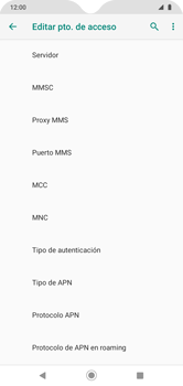 Configura el  Internet - Motorola Moto G8 Play (Single SIM) - Passo 12