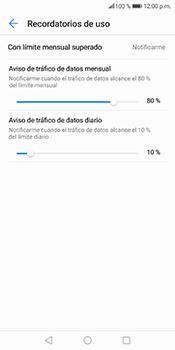 Desactivación límite de datos móviles - Huawei Mate 10 Lite - Passo 8