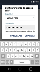 Configura el hotspot móvil - LG K4 - Passo 8