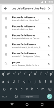 Uso de la navegación GPS - Motorola Moto E5 - Passo 7