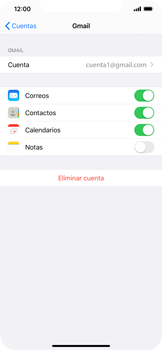 Desactivar la sincronización automática - Apple iPhone 11 - Passo 5