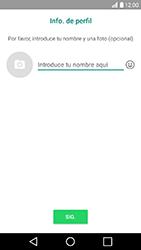 Configuración de Whatsapp - LG K10 2017 - Passo 10