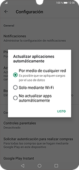 Cambiar configuración de actualizaciones de aplicaciones - Huawei P30 Pro - Passo 6