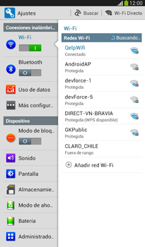 Configura el hotspot móvil - Samsung Galaxy Tab 3 7.0 - Passo 4