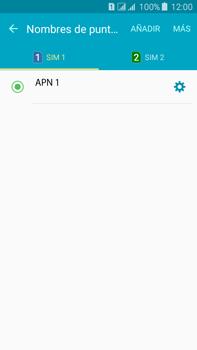 Configura el Internet - Samsung Galaxy J7 - J700 - Passo 10
