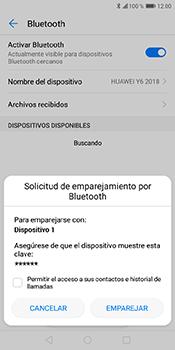 Conecta con otro dispositivo Bluetooth - Huawei Y6 2018 - Passo 7