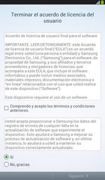 Activa el equipo - Samsung Galaxy Tab 3 7.0 - Passo 7
