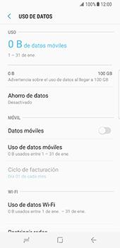 Desactiva tu conexión de datos - Samsung Galaxy S8 - Passo 7