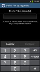 Desbloqueo del equipo por medio del patrón - Samsung Galaxy Zoom S4 - C105 - Passo 13