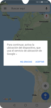Uso de la navegación GPS - Huawei Y7 2019 - Passo 5