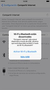 Configura el hotspot móvil - Apple iPhone 7 Plus - Passo 7