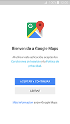 Uso de la navegación GPS - Samsung Galaxy J3 - J320 - Passo 4