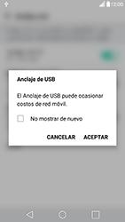 Comparte la conexión de datos con una PC - LG G5 - Passo 6