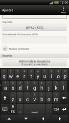 Configura el hotspot móvil - HTC One S - Passo 9