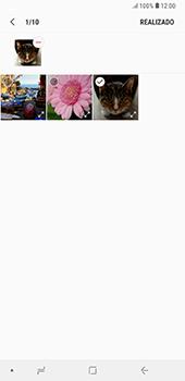 Envía fotos, videos y audio por mensaje de texto - Samsung A7 2018 - Passo 19