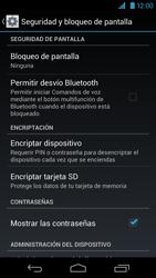Desbloqueo del equipo por medio del patrón - Motorola RAZR HD  XT925 - Passo 5