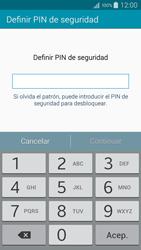 Desbloqueo del equipo por medio del patrón - Samsung Galaxy A5 - A500M - Passo 11