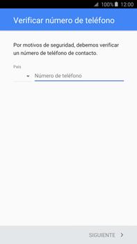 Crea una cuenta - Samsung Galaxy Note 5 - N920 - Passo 6