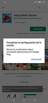 Instala las aplicaciones - Huawei Mate 20 Lite - Passo 13