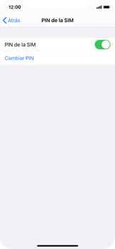 Cómo cambiar el código PIN de la SIM - Apple iPhone XS - Passo 4