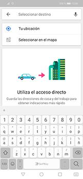 Uso de la navegación GPS - Huawei Mate 20 Lite - Passo 13