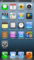 Desactiva tu conexión de datos - Apple iPhone 5 - Passo 1