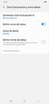 Desactivación límite de datos móviles - Samsung Galaxy A10 - Passo 8
