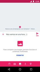 Envía fotos, videos y audio por mensaje de texto - Motorola Moto G5 - Passo 9