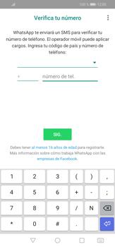 Configuración de Whatsapp - Huawei P30 Lite - Passo 5