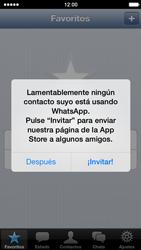 Configuración de Whatsapp - Apple iPhone 5s - Passo 12