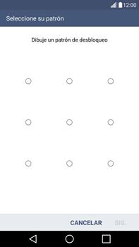 Desbloqueo del equipo por medio del patrón - LG G4 - Passo 9