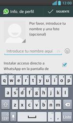 Configuración de Whatsapp - LG Optimus L5 II - Passo 8
