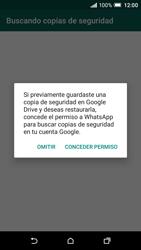 Configuración de Whatsapp - HTC One A9 - Passo 12