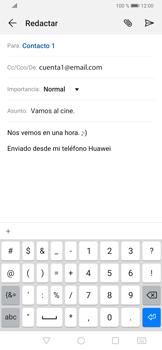 Cómo enviar un correo electrónico - Huawei P30 - Passo 10