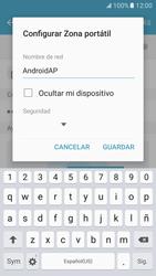 Configura el hotspot móvil - Samsung Galaxy S7 - G930 - Passo 9