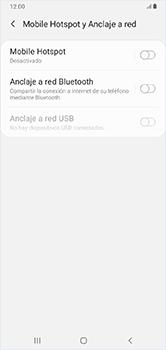 Configura el hotspot móvil - Samsung Galaxy A10 - Passo 6