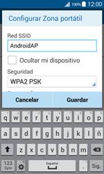 Configura el hotspot móvil - Samsung Galaxy Core Prime - G360 - Passo 8