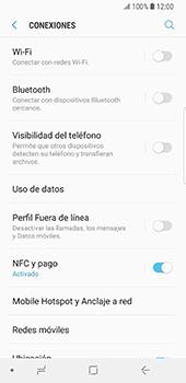 Desactiva tu conexión de datos - Samsung Galaxy S9 - Passo 4