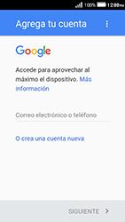Crea una cuenta - Huawei Y3 II - Passo 2