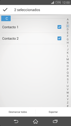 ¿Tu equipo puede copiar contactos a la SIM card? - Sony Xperia Z2 D6503 - Passo 8