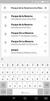 Uso de la navegación GPS - Huawei Mate 10 Pro - Passo 8