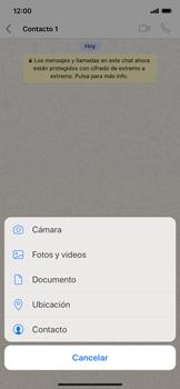 Usar WhatsApp - Apple iPhone XS Max - Passo 7