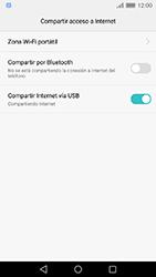 Comparte la conexión de datos con una PC - Huawei Cam Y6 II - Passo 7